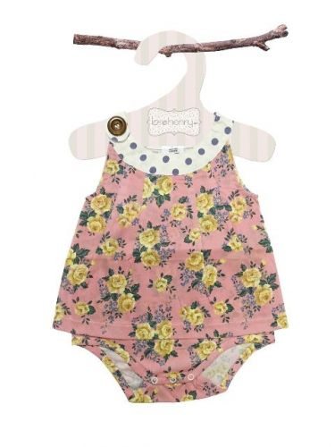 Love Henry Mae Sofia Playsuit  (Sizes 00 to 2)