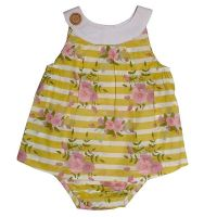 Love Henry Elka Sofia Playsuit Yellow Stripe (Sizes 000 to 2)