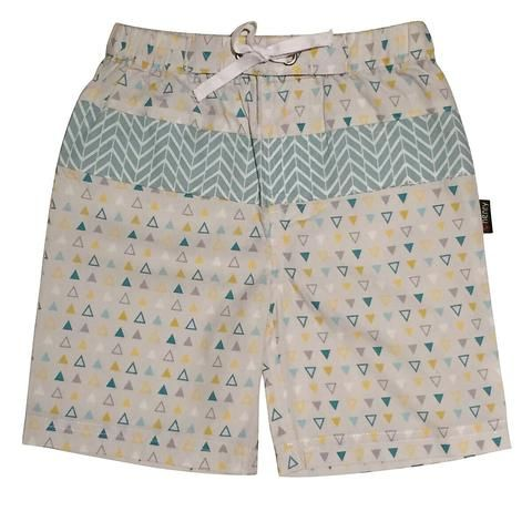 Love Henry Tribal Baxter Shorts - Triangle Print (sizes 00-2)