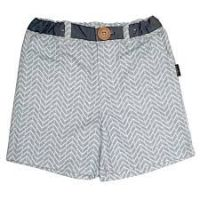 Love Henry Tribal Oscar Shorts - Aqua Chevron (sizes 0-2)