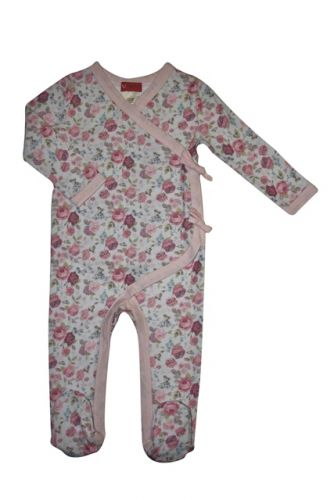 Love Henry Ruby Winter Onesie - Floral