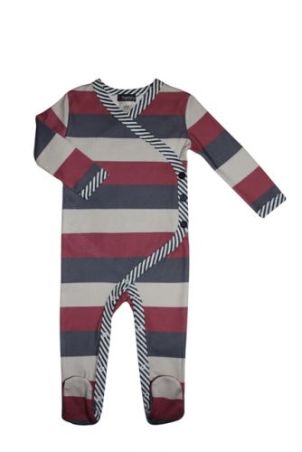 Love Henry Winter Onesie - Benjamin Stripe