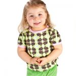 Nosh Organics - Bunnies Short Sleeve T-Shirt - 100% organic cotton (only 18-24mths left)