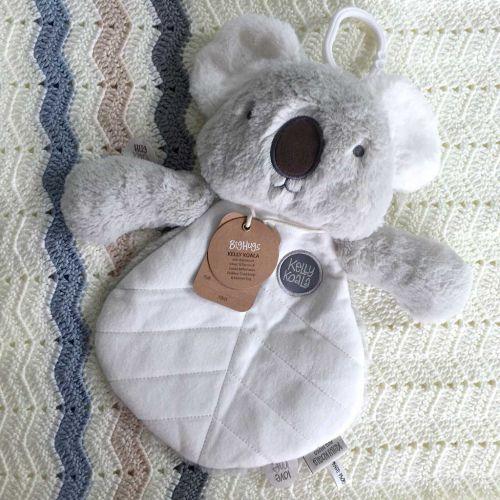 Kelly Koala  Baby Comforter  Grey
