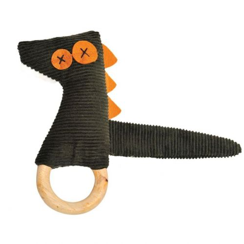 Ally Gator /Crocodile Dingaring Teething Toy Rattle
