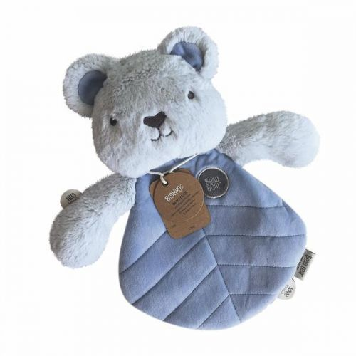OB Designs Beau Bear Blankie - Baby Comforter (Blue) - Retired