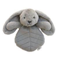 OB Designs Bodhi Bunny  Comforter - Grey