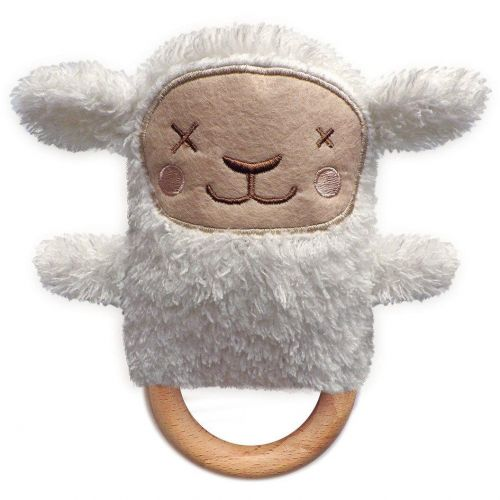 Sheryl Sheep Dingaring Teething Toy Rattle