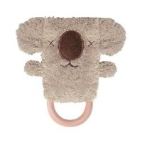 Kevin Koala Dingaring Teething Toy Rattle -Brown