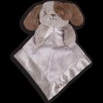 OB Designs Daryl Dog Blankie - Baby Comforter - Retired