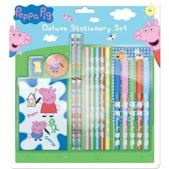 Peppa Pig Deluxe Stationery Set
