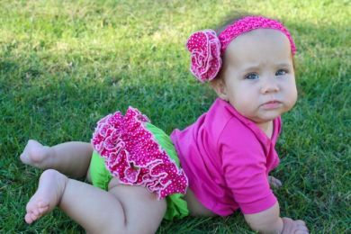 Frilly Tushies - Sienna  Nappy Cover