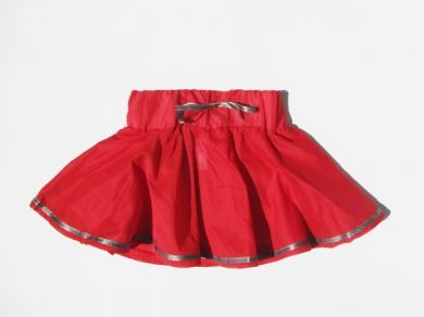 Twirl Skirt with Bronze Ribbon by Who Wears The Pants (only size 3 & 4 left)