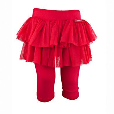 Tulle Skirtle in Berry Red by Skeanie (last size left 6-7 years)