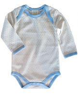 Sapling -Organic Cotton Long Sleeve Bodysuit - Essentials Blue