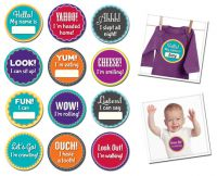 Sticky Bellies Milestone Momentos - Milestone Stickers