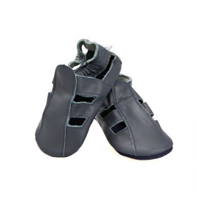 SKEANIE Sandals/Shoe - Soft Sole -  Navy (Last Pair Left Small)