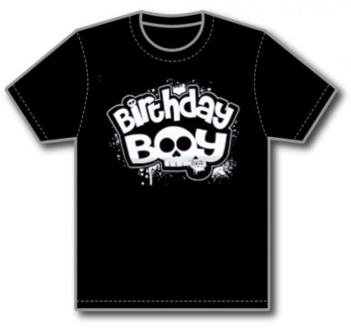 Birthday Boy Tee (sizes 3 to 5)