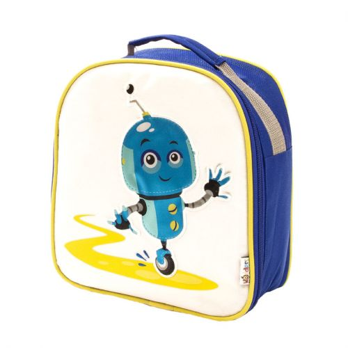 Woddlers Insulated Lunch Box - Robot
