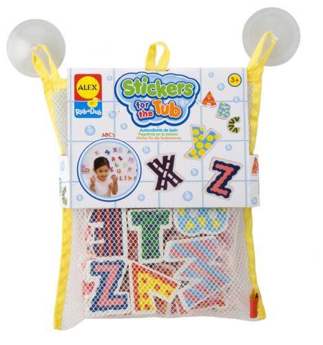 Stickers for the Tub - ABC - RubaDub - Foam Bath Toy