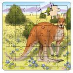 Mr Kangaroo Puzzle - Aussie 3+ years Gift