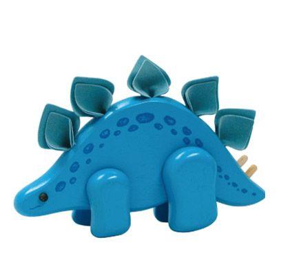 Stegosaurs Dinosaur - Wooden Toy