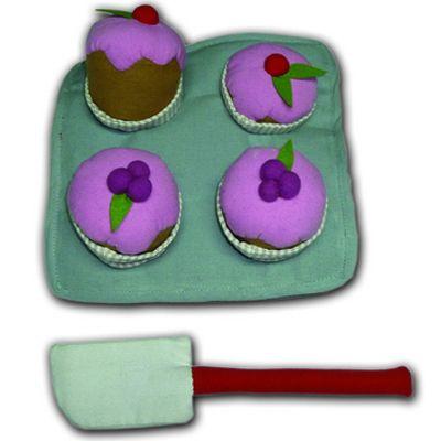 Fabric Cupcake Set