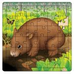 Womby Wombat Puzzle - Aussie Toddler Gift