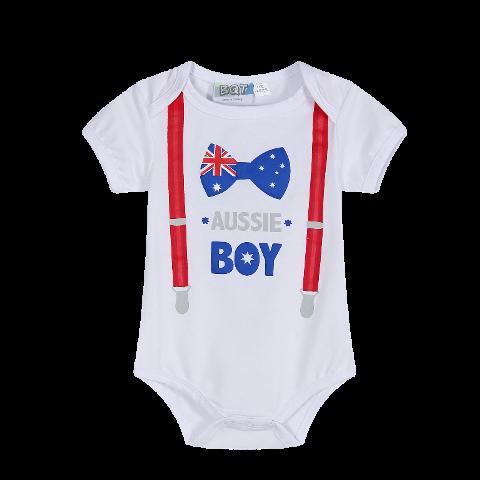 Aussie Boy Bodysuit (Size 00 only)
