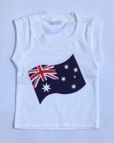 Australian Flag Baby Tank /Singlet Top