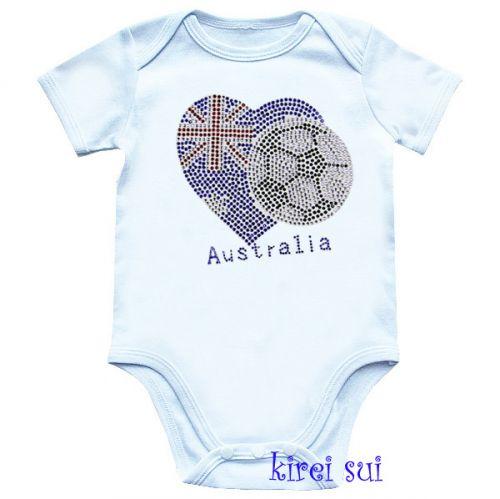 Aussie/Australia Soccer/Football Bodysuit
