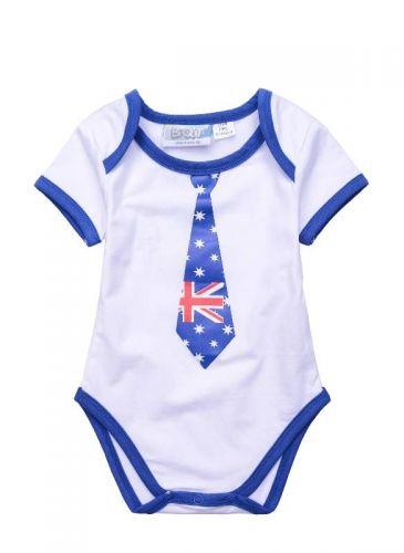 Aussie/Australia Tie Bodysuit