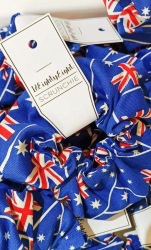 Australia Flag Scrunchie