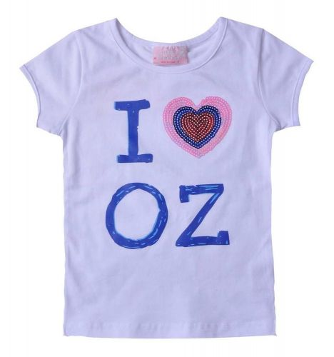 I Love  Oz Tee (Sizes 0-7)
