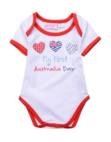 My First Australia Day Bodysuit