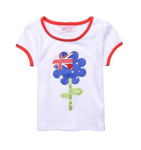 Australia Flower Tee (only Size 1 left)