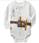 Builder Long Sleeve Bodysuit