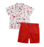 Aussie Christmas Shorts and Shirt Set (Ages 1 to 5)