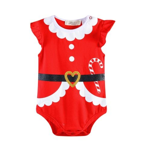 Mrs Claus Santa Baby Christmas Outfit - Onsie(Sizes 000 to 1)