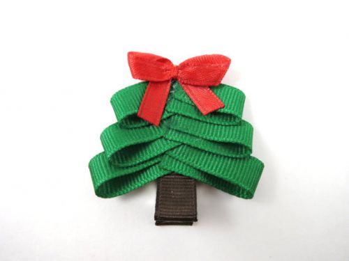Super Cute Christmas Tree Hair Clip