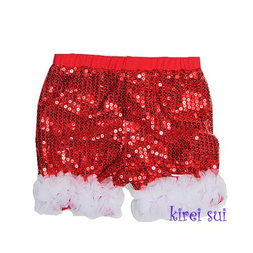 Sparkly Christmas Shorts (last ones size 3-4 & 5-7 years)