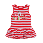 My First Christmas - Striped Dress - Baby Infant Christmas Outfit