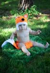 Photo Prop -Crochet Fox Outfit for Babies