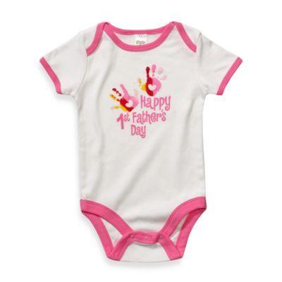 1st Fathers Day Bodysuit/Onsie