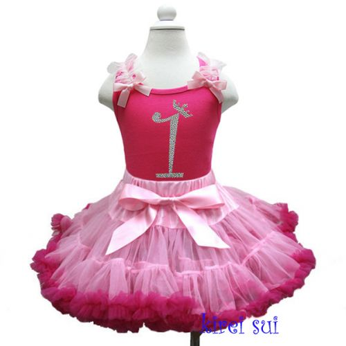 Sparkly No 1 Tutu Outfit - First Birthday Outfit