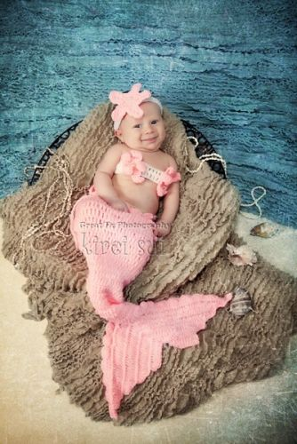 Baby Photo Prop Mermaid Outfit Baby Gifts Baby Photography Not