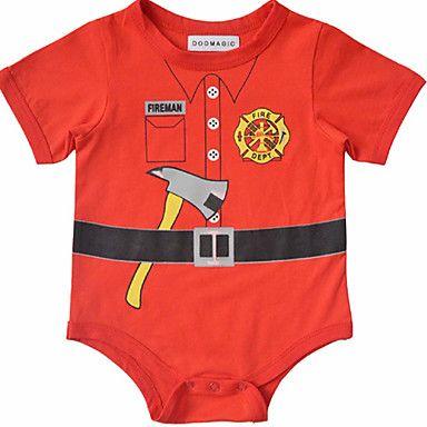 Fireman Baby Bodysuit /Onsie