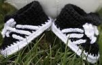 Crochet Shoes/Runners/Football Boots - Various Colours