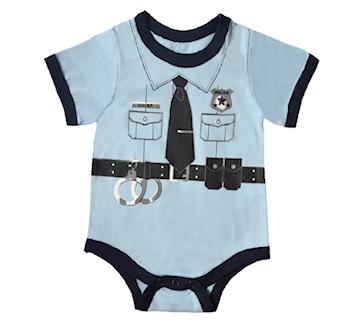 Baby Policeman -Bodysuit /Onsie