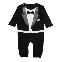 Baby Tux - Bodysuit/Romper (only 18-24 mths left)